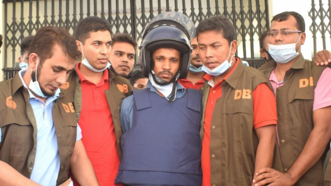Suspended gardener charged with attacking the then Ghoraghat UNO
