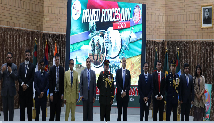 New Delhi mission celebrates Armed Forces Day of Bangladesh