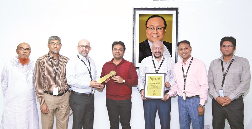 Bashundhara Group receives Superbrands Award for LP Gas