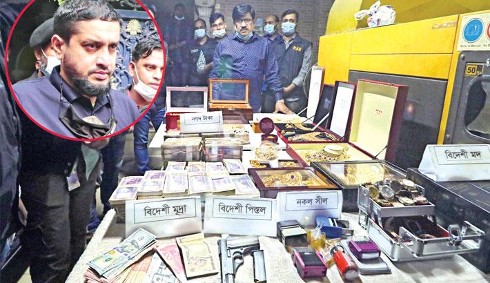 'Golden Monir' arrested
