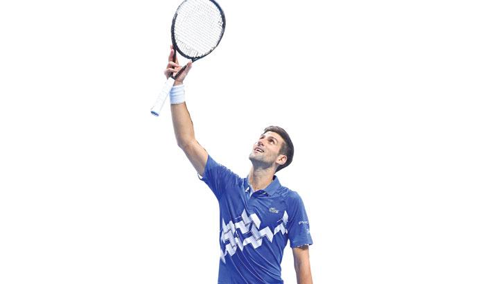 Djokovic reaches last four at ATP Finals