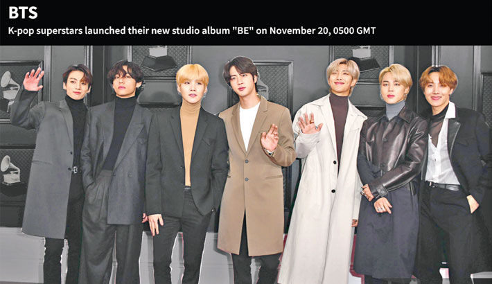 New BTS album racks up millions of listens within hours