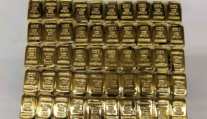 Ctg airport sees surge in entry of gold bars