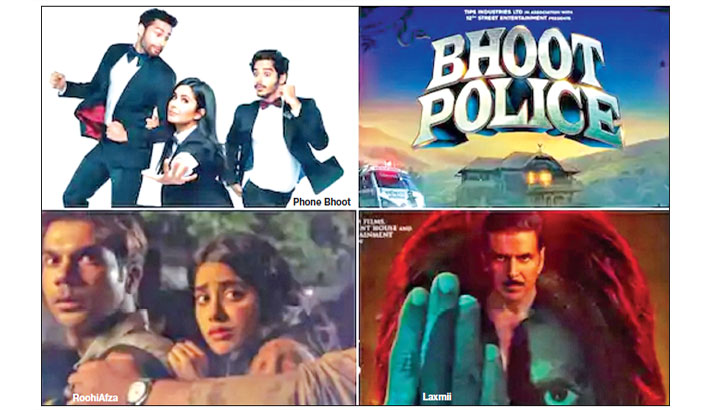 Laxmii to Bhoot Police: Bollywood warms up for horror comedy genre
