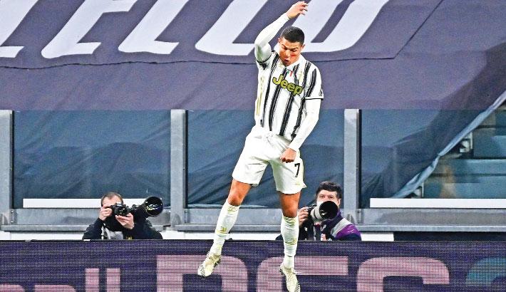 Ronaldo double lifts Juve