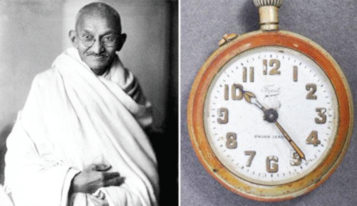 Gandhi's broken pocket watch sells for £12k