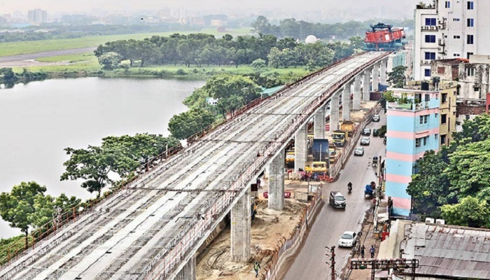 Metro rail work gets into gear