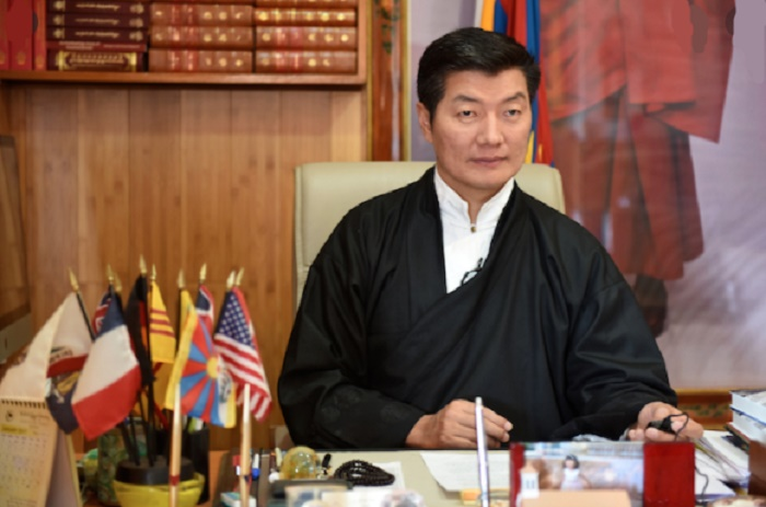 Tibetan President in-exile visits White House