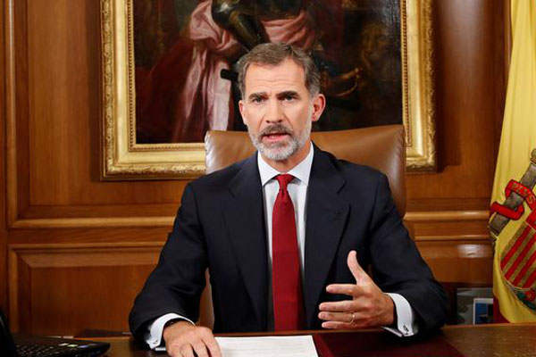 Spain's king self-isolating after virus contact: palace