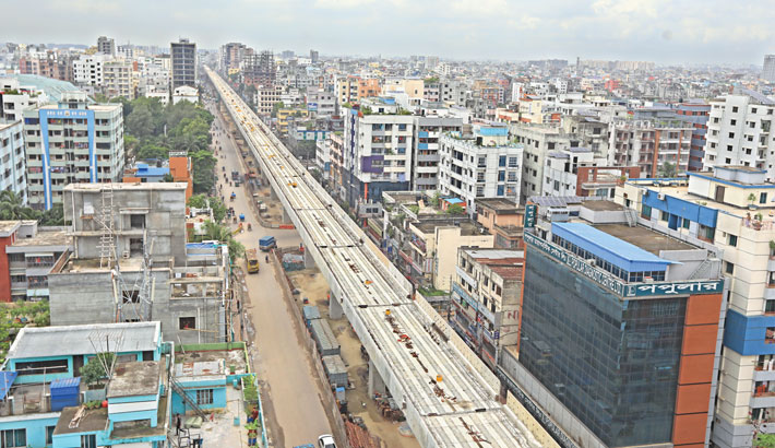 Metro rail work gets into gear