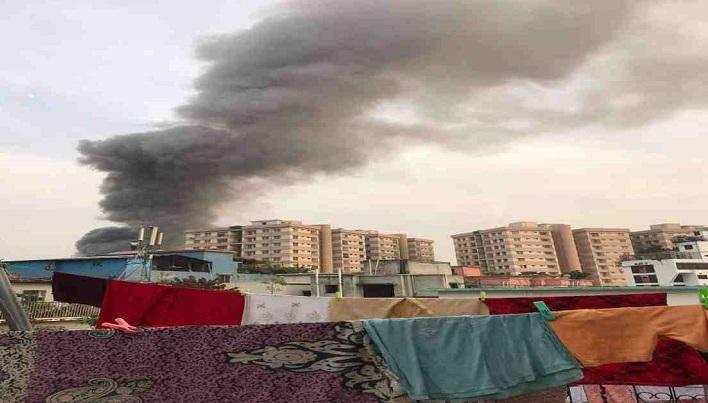 Fire at Bihari camp in Mohammadpur  doused
