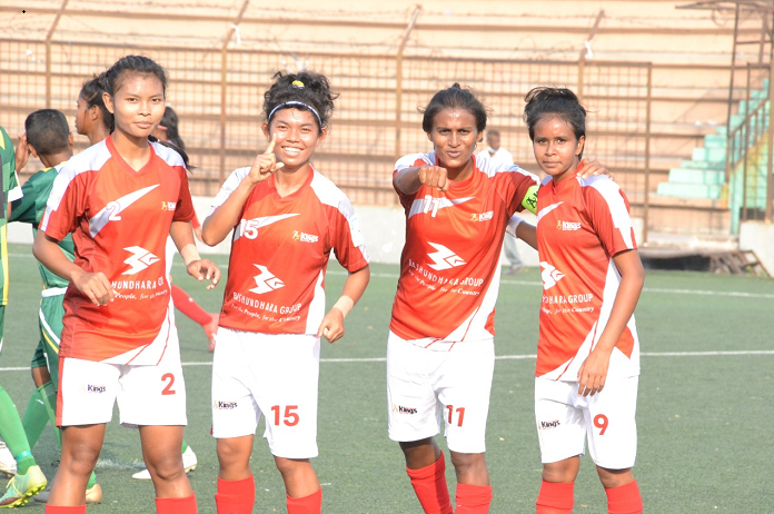 Women's Football League: Kings punish Gallactico
