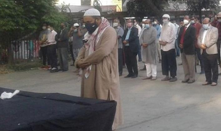 Journalist Khandkar Muniruzzaman laid to eternal rest