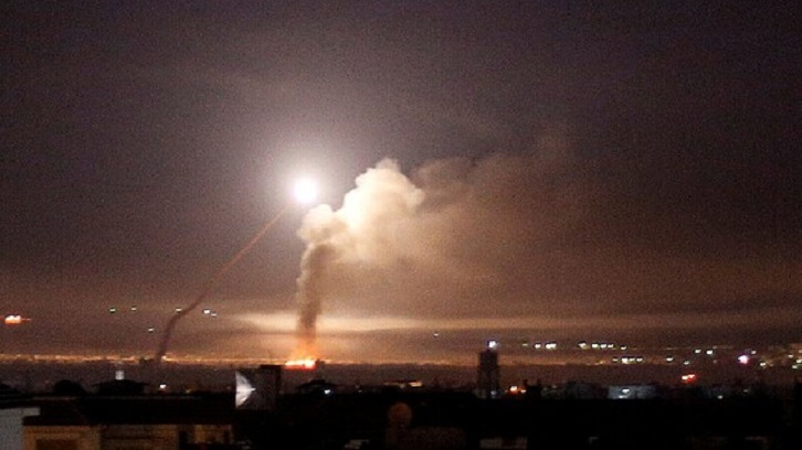Israeli air strikes hit near Damascus: state media