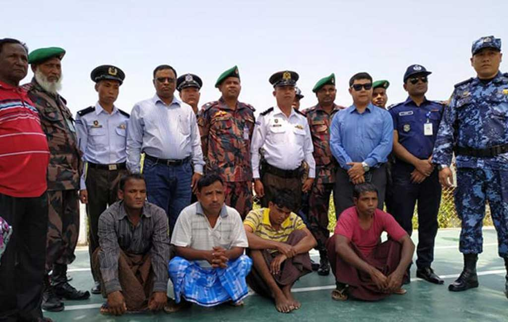 Myanmar returns 9 Bangladeshi fishermen
