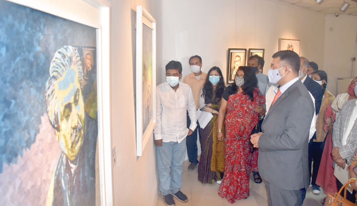 Two special exhibitions at Shilpakala Academy