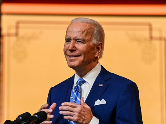 Biden says Americans 'won't stand' for attempt to derail election result