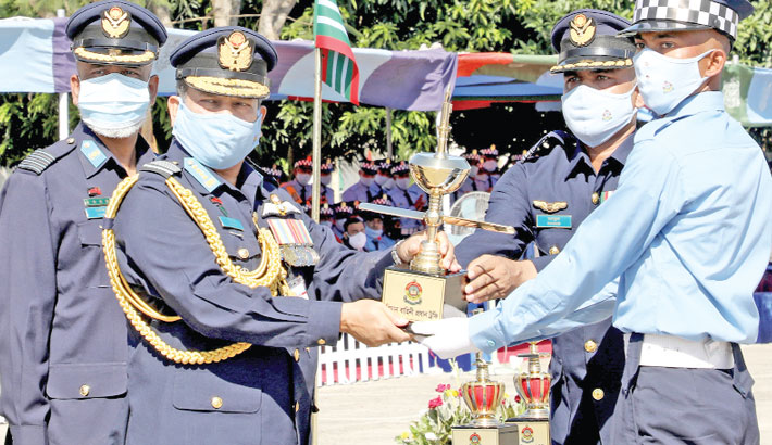 Recruits' passing out parade of BAF held