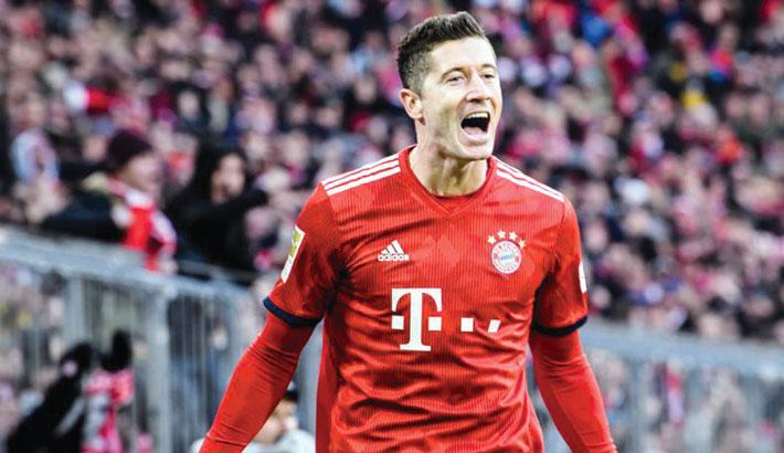 Lewandowski shortlisted for Best FIFA award