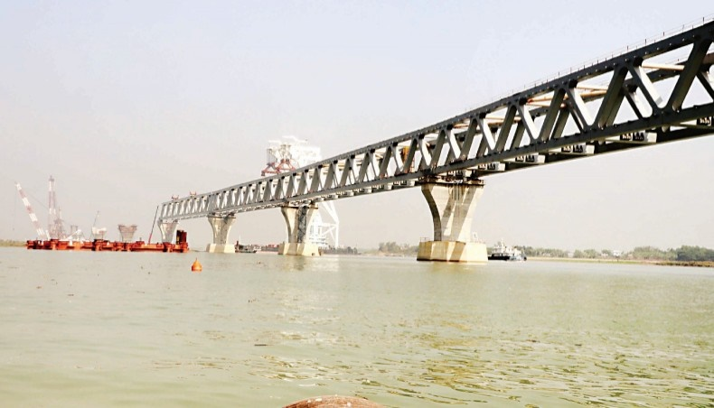 39th span of Padma Bridge to be installed Friday