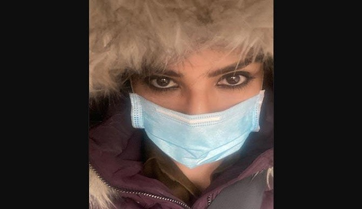 Raveena Tandon prepares for night curfew in Manali