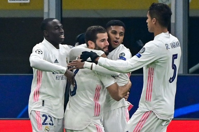 Real Madrid back on track after win over 10-man Inter