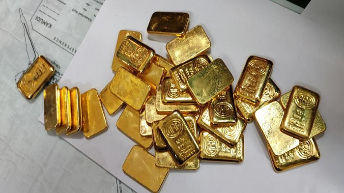 Passenger held with 20 gold bars at Sylhet airport