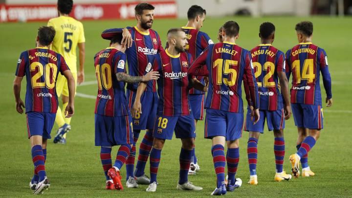 Barca players set for 122 million euros salary cut
