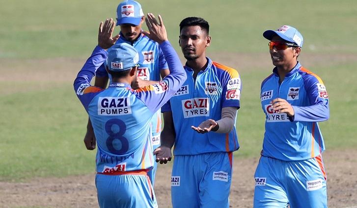 Mustafiz stars in Chattogram's 9-wicket victory against Khulna