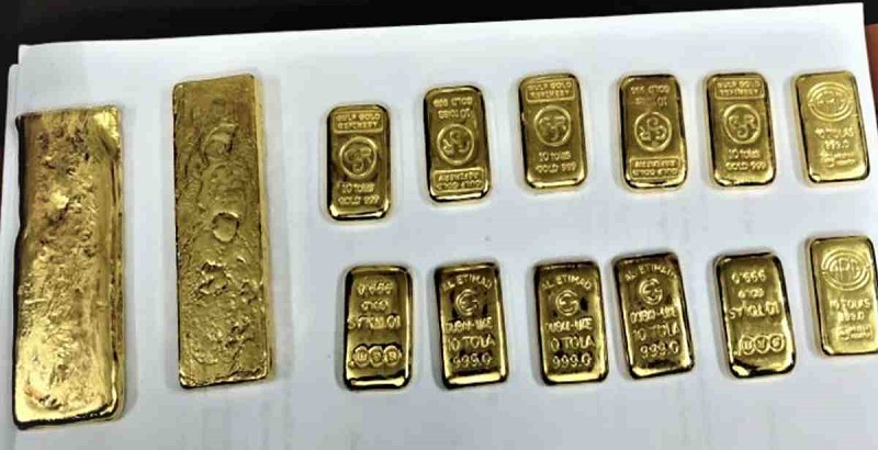 Man held with  gold bars worth Tk 1.43 crore in Chattogram