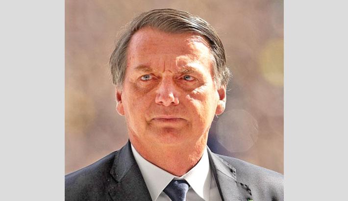 Bolsonaro won't take virus vaccine