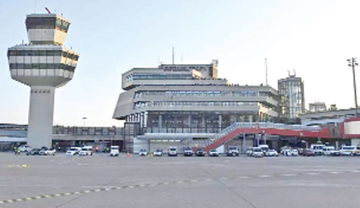 Former Berlin airport gets new life as vaccination centre
