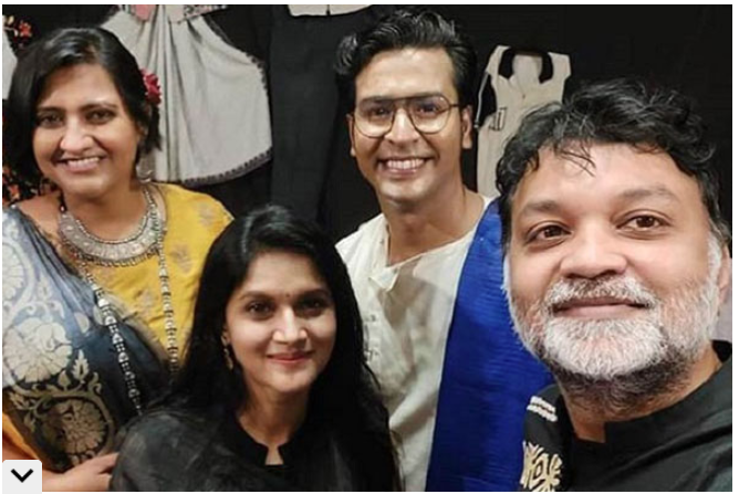 Srijit-Mithila attend wedding reception of Anirban-Madhurima