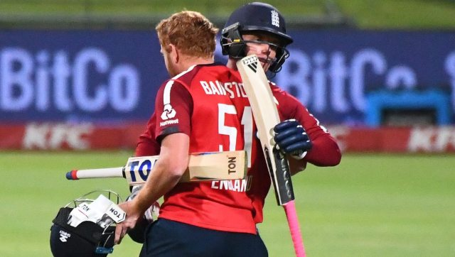 Bairstow powers England to T20 victory over South Africa in Cape Town