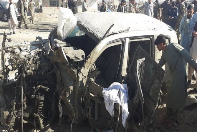 At least 30 police killed, over 20 wounded in suicide car bomb blast in Afghanistan