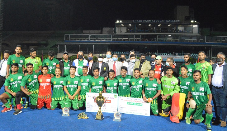 BHF green emerge champions