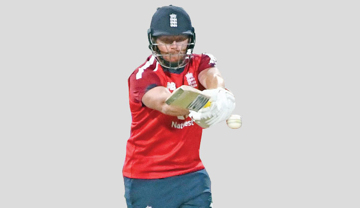 Bairstow powers England to T20 victory