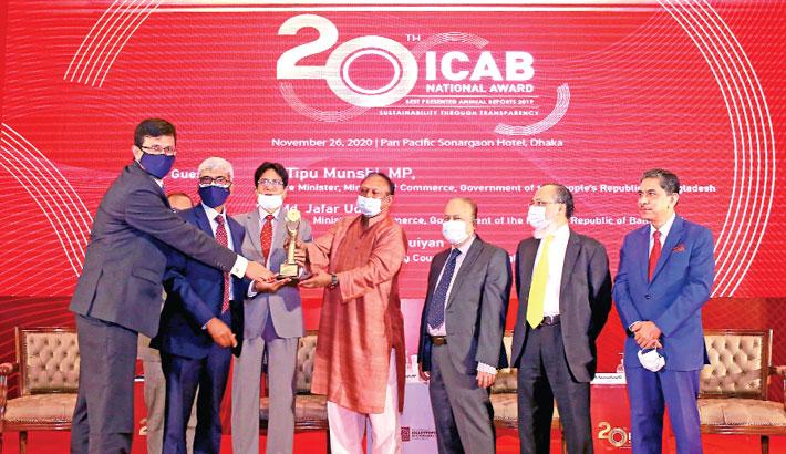 LankaBangla Finance gets ICAB Award