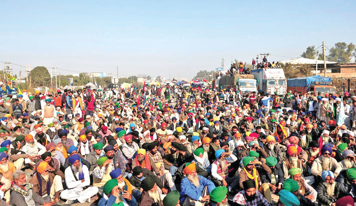 Protest continues against new farm laws in India