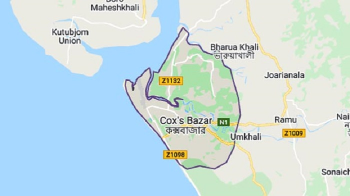 Man killed as bus overturns in Cox's Bazar