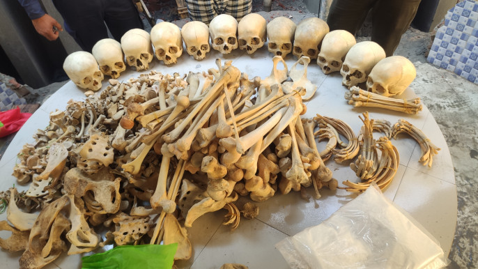 Smuggling of human skeletons goes unchecked