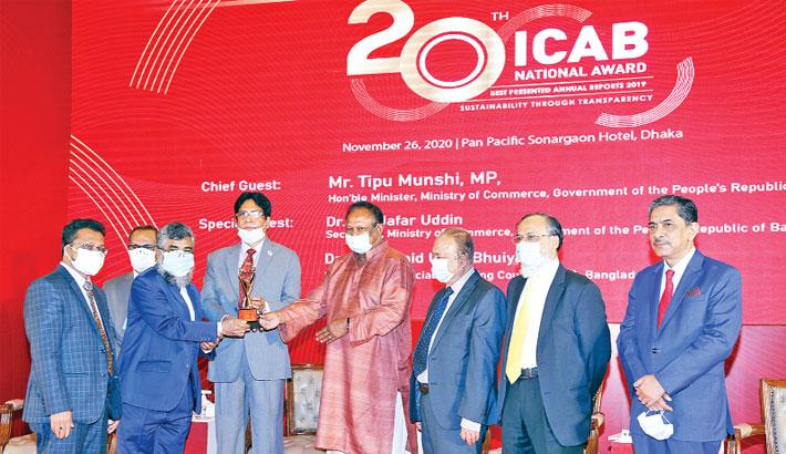 IBBL wins ICAB National Award