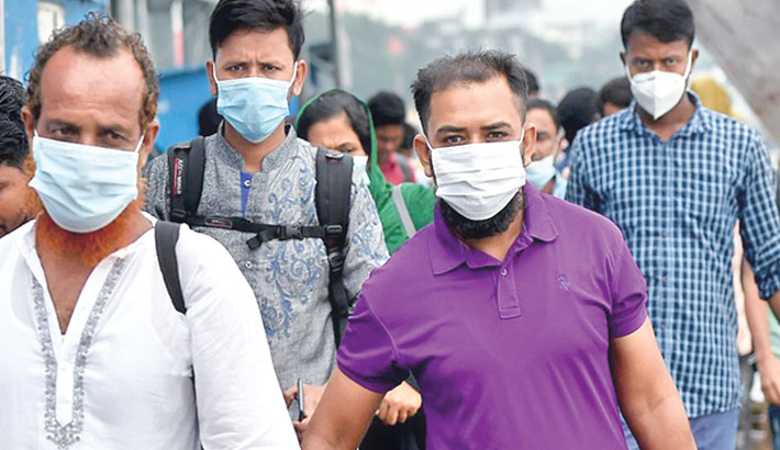 Wearing of masks on rise amid mobile court drive