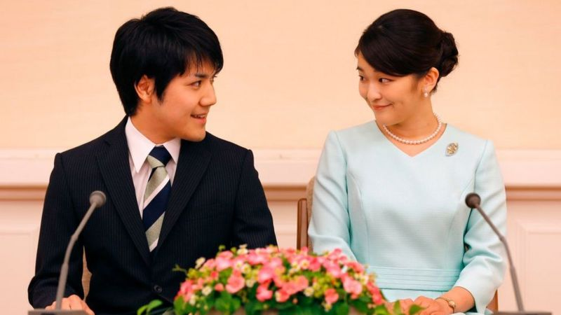 Japan's crown prince 'approves' daughter's wedding