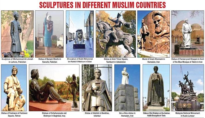 Construction of Bangabandhu Sculpture: Fanatics out to create unrest