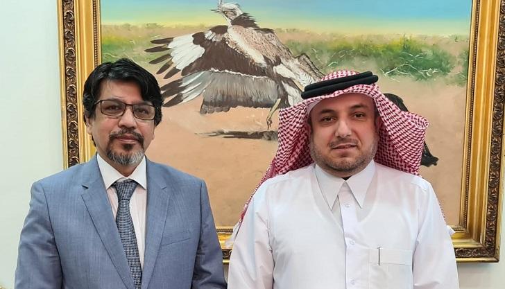 Bangladesh Ambassador's meeting at Qatar's Foreign Office