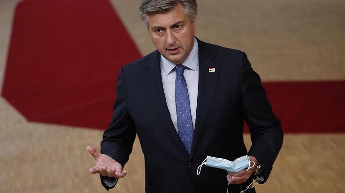 Croatia PM Plenkovic positive for Covid-19