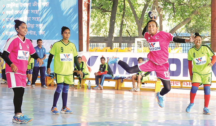 Women's Fed Cup Handball : Ansar earn final berth