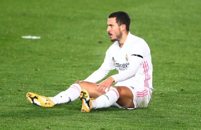 Hazard's Real frustrations continue with thigh injury