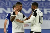 Fulham shock Leicester to escape relegation zone, West Ham go fifth